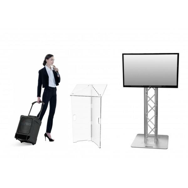 Pack discours & conférence (moins de 80 personnes)