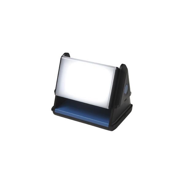 6 projecteurs éclairage blanc sur batterie