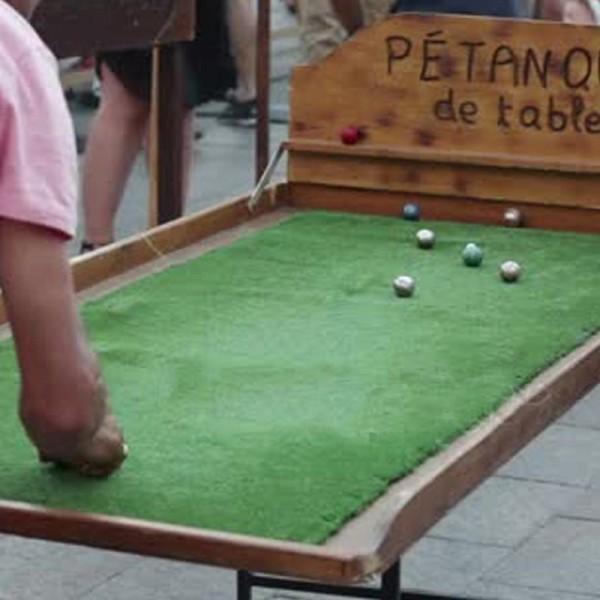 Pétanque de table