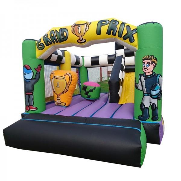 château gonflable grand prix