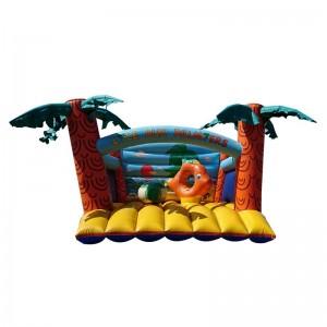 château gonflable île aux palmiers