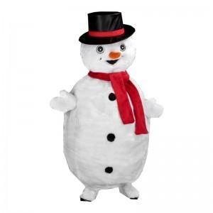 Mascotte géante bonhomme de neige