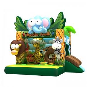 château gonflable mini safari