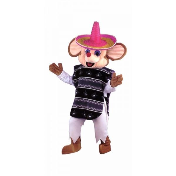 Mascotte géante souris Mexicaine