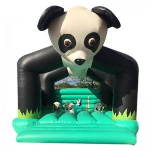 château gonflable panda