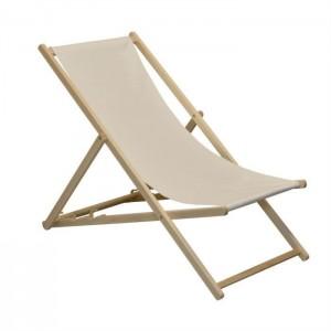 Chaise longue (transat de plage)