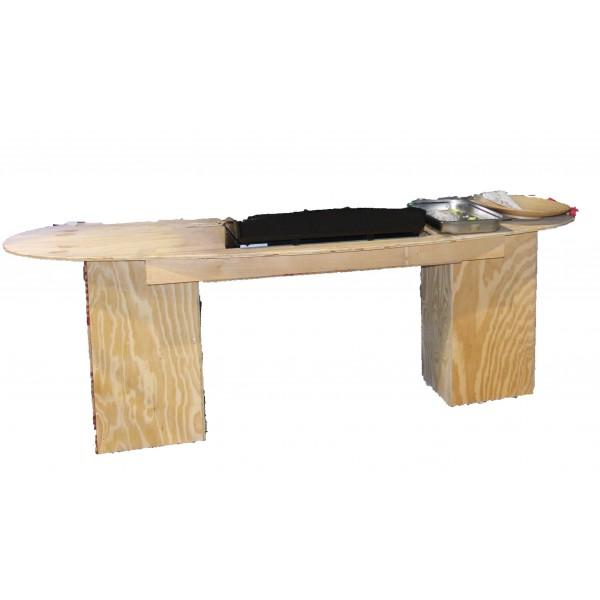 Table buffet plancha