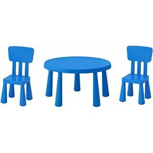 Ensemble mobilier enfant plastique coloré