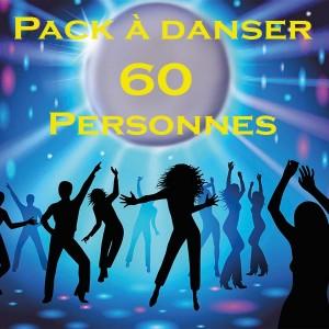 Pack à danser 60 personnes