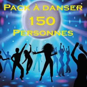 Pack à danser 150 personnes