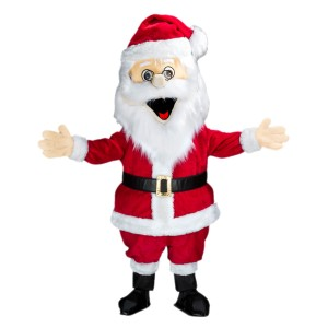Mascotte géante Père Noël