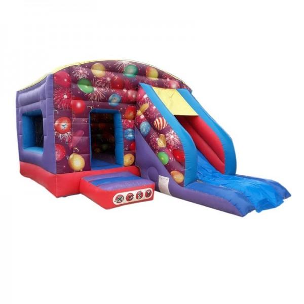 château gonflable cabane aux ballons