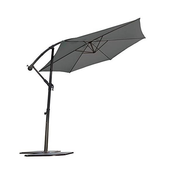 Parasol déporté 3 m