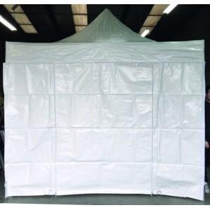 Mur blanc pour tente de réception sans fênetre- 3 x 3 m