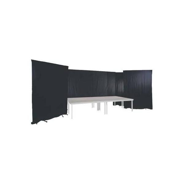Pendrillon noir 4 m X 3 m