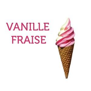 150 glaces à l'italienne vanille & fraise