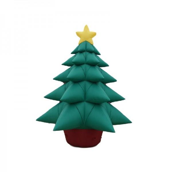 Sapin de Noël gonflable géant