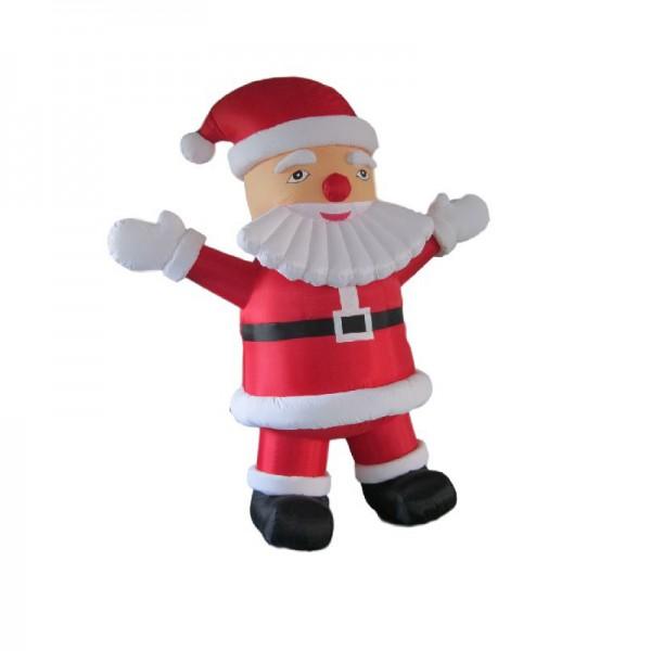 Père Noël gonflable géant