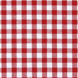 Nappe Vichy rouge et blanche