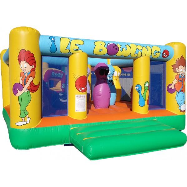 château gonflable Bowling