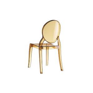 Chaise Médaillon transparente
