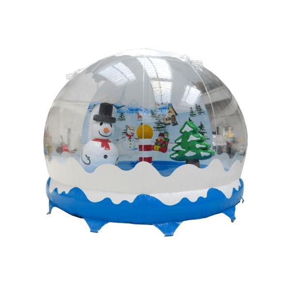 Boule à neige gonflable