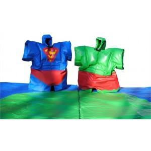 sumos adultes super-héros